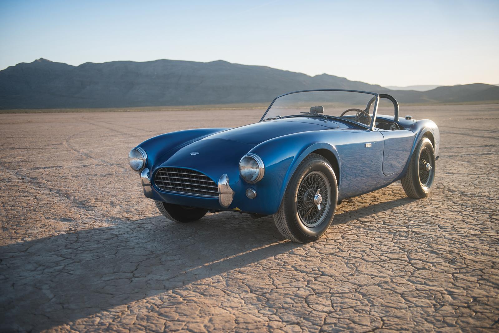 Shelby Cobra číslo 1