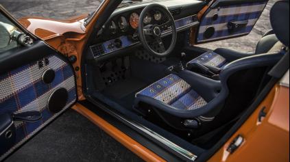 2x Singer 911 s krásnym retro interiérom