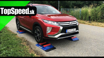 MITSUBISHI ECLIPSE CROSS TEST INTELIGENCIE POHONU 4X4