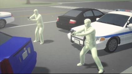 Streľba na unikajúce vozidlo. Schvaľujete to?