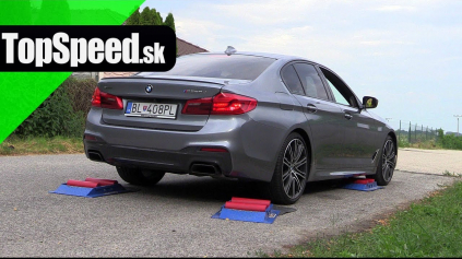 BMW M550D XDRIVE TEST INTELIGENCIE POHONU 4X4
