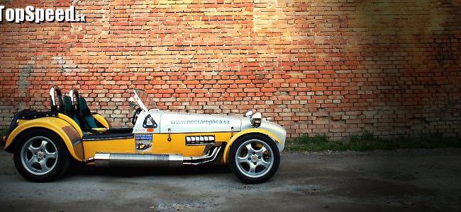 <p>Lotus Super 7 - Necra Replica by Jiří Horák</p>