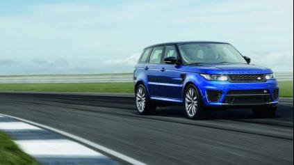 Range Rover Sport SVR vám vyrazí dych na okruhu a stále dokáže prebrodiť rieku