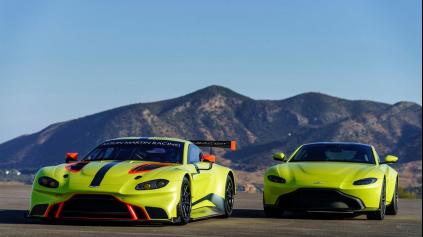 Aston Martin Vantage ukázali naraz ako sériovku aj okruhový špeciál