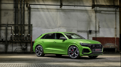 Predstavili najrýchlejšie SUV na N-ringu - Audi RS Q8