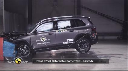Aj Euro NCAP Mercedes GLB zvládol bez zaváhania