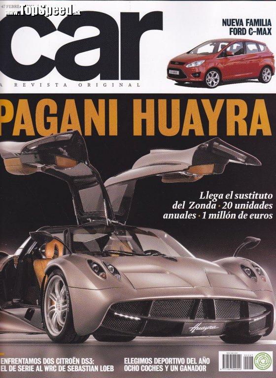 Car Magazine - titulka