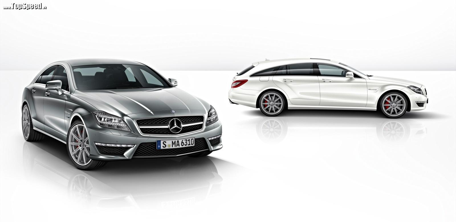 Mercedes-Benz CLS 63 AMG a obe karosárske verzie