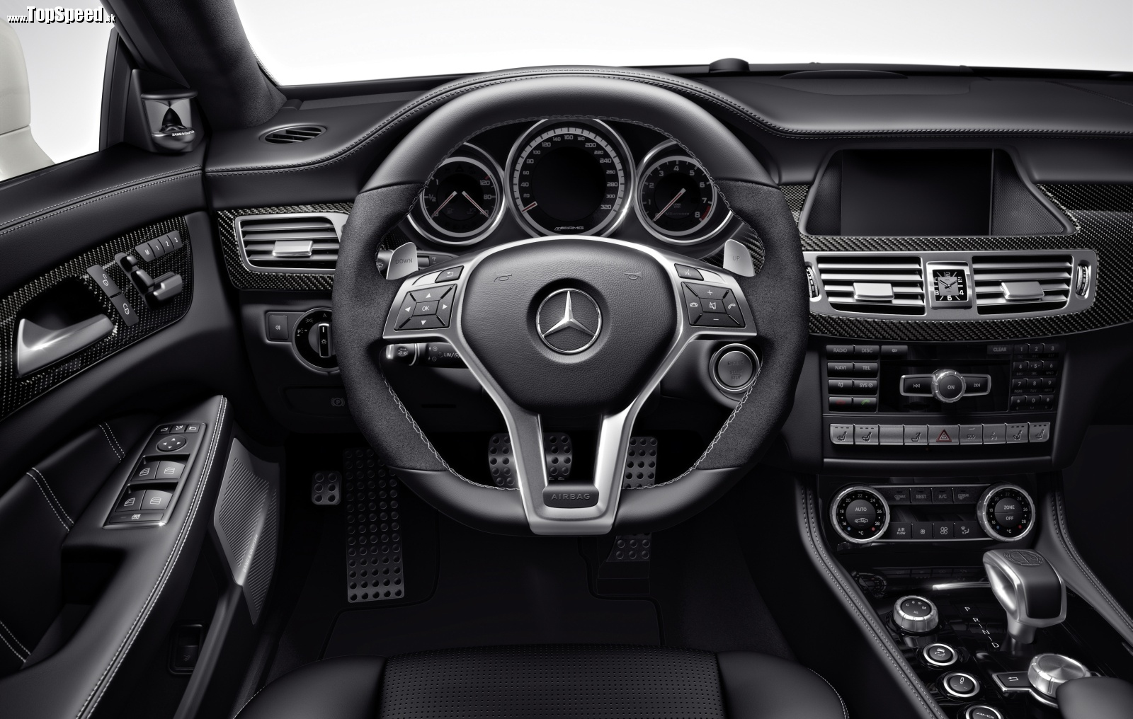 Interiér Mercedes-Benz CLS 63 AMG
