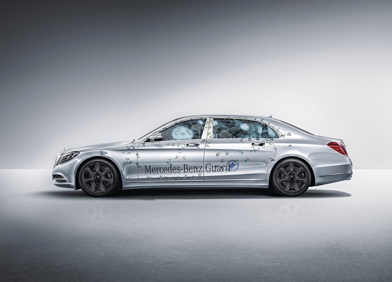 Mercedes-Maybach S600 Guard ochráni posádku aj pred granátmi