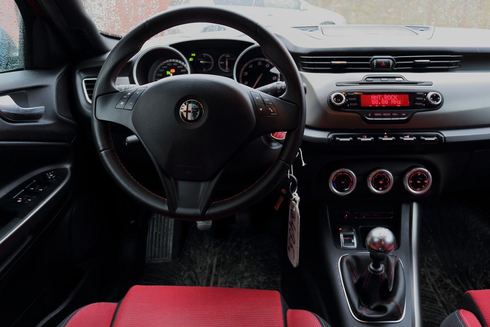 Topspeed.sk test jazdenky Alfa Romeo Giulietta