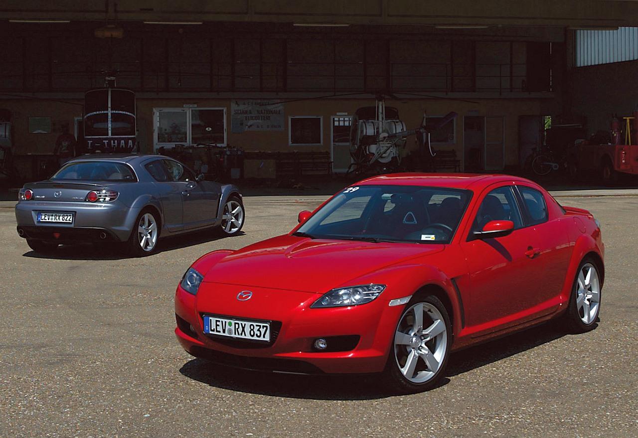 Mazda RX8 rady a tipy