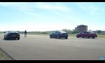 Šprint Tesla Model 3, BMW M850i a Mercedes E63 AMG
