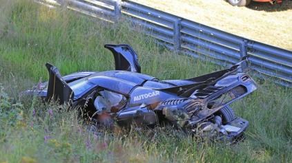 Pre zlý ABS senzor za pár Eur na Nürburgringu rozbil Koenigsegg One:1