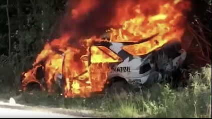 Ken Block prišiel v ohnivej nehode o Ford Escort