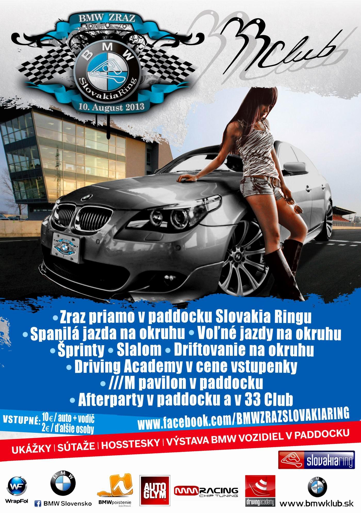 BMW klub zraz slovakiaring