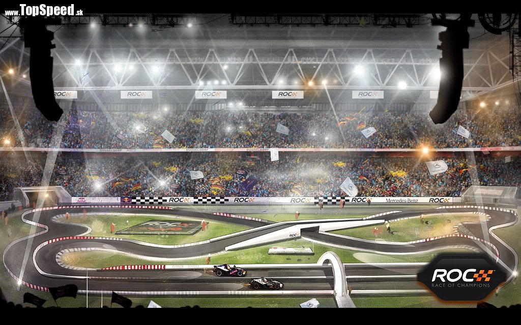Trať tohtoročného Race of Champions 2010