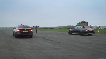 Šprint BMW M5 Competition a MB E63 S AMG prináša férovú odvetu