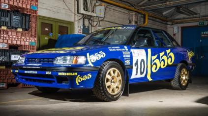 Nielen Impreza, ale aj Subaru Legacy bolo rally auto!