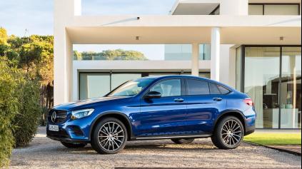 MERCEDES GLC COUPÉ JE ODPOVEĎ NA BMW X4