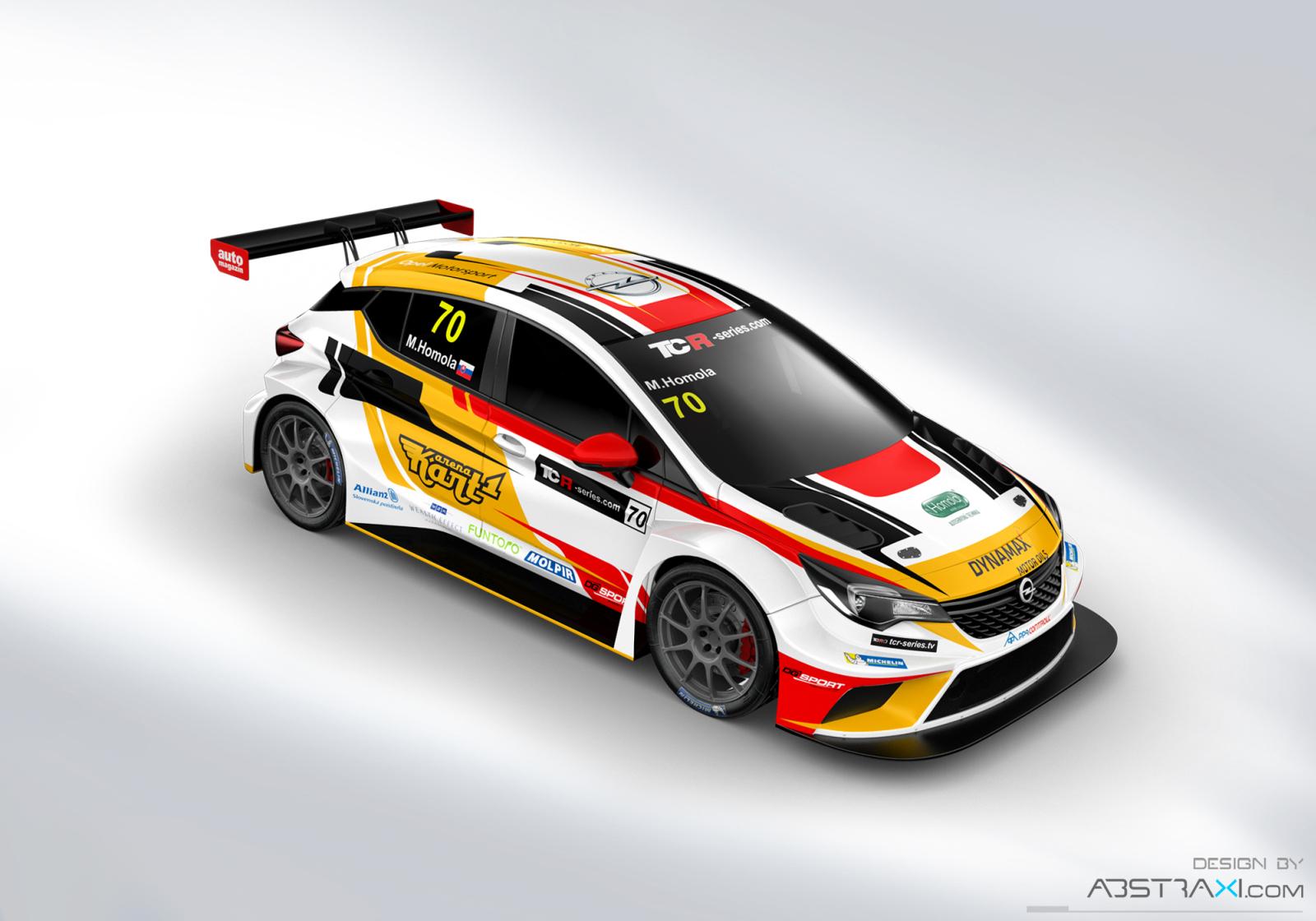 Maťo Homola opäť v TCR, ale s novým autom v novom tíme