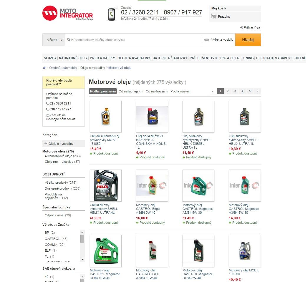 www.motointegrator.sk kedy vymenit motorovy olej