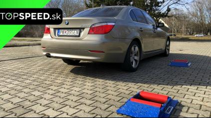 BMW RADU 5 XDRIVE 4X4 TEST E60