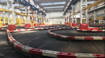 Nová trať v Kart1 Arene, pozrite sa aká je