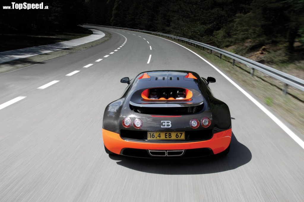 Je dávno dokázané - lepšie než akékoľvek argumenty sú činy! V Bugatti to  vedia. Pripravili preto SUPER VEYRON. Vrchol vrcholov 896a7d03c3e