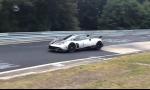 Pagani zahájil útok na rekord Nurburgringu