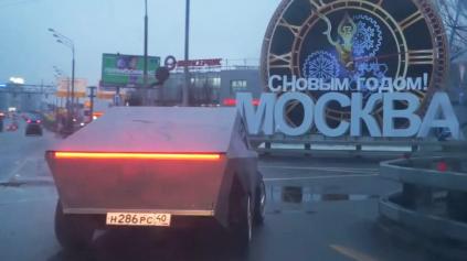 Rusi postavili vlastný Cybertruck. Stačilo im na to 1160 eur