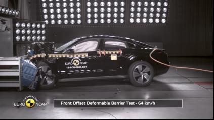 Aj elektrické Porsche Taycan Euro NCAP prešlo na 5 hviezdičiek
