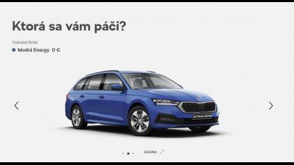 Škoda Octavia IV prichádza na Slovensko. Základ stojí 17 790 eur