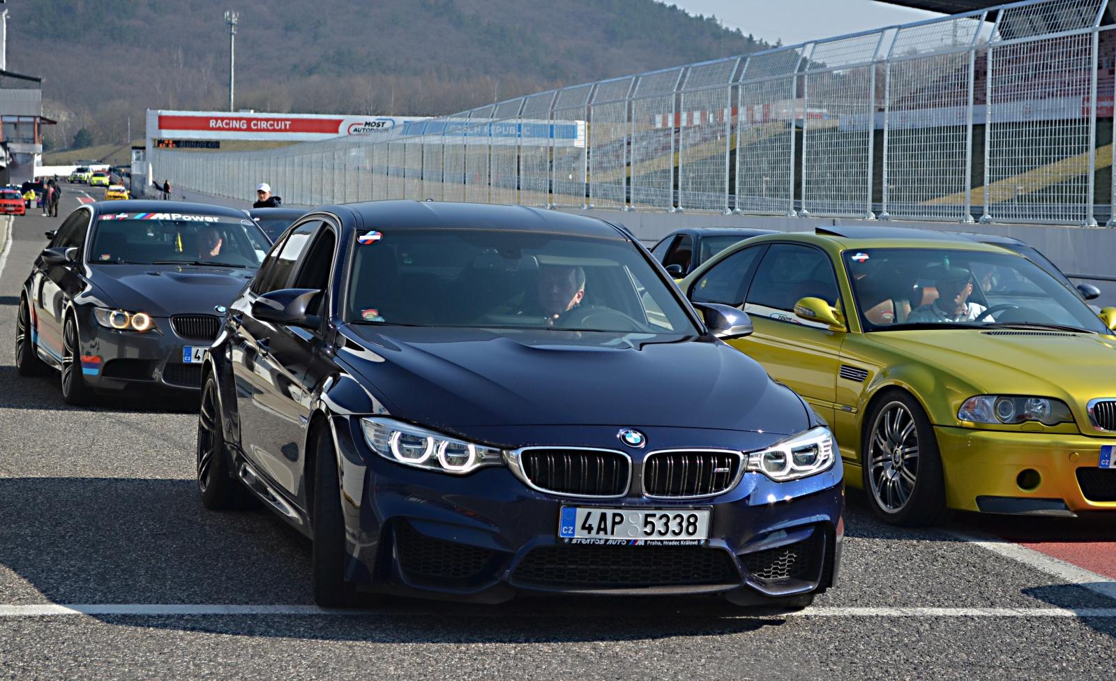 II. BMW M zraz okruh Most