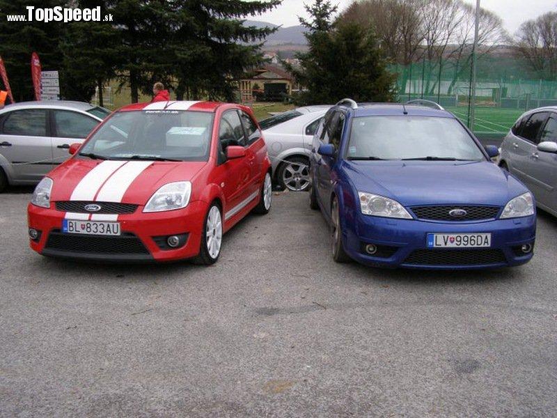 Mondeo 3,0 V6 Tournier získal II. a Fiesta ST150 III. miesto v súťaži krásy
