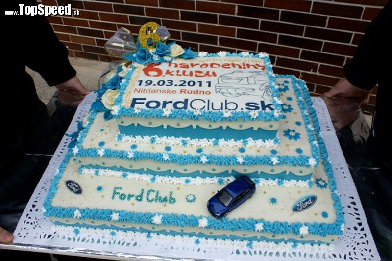 Takto vyzerala narodeninová torta