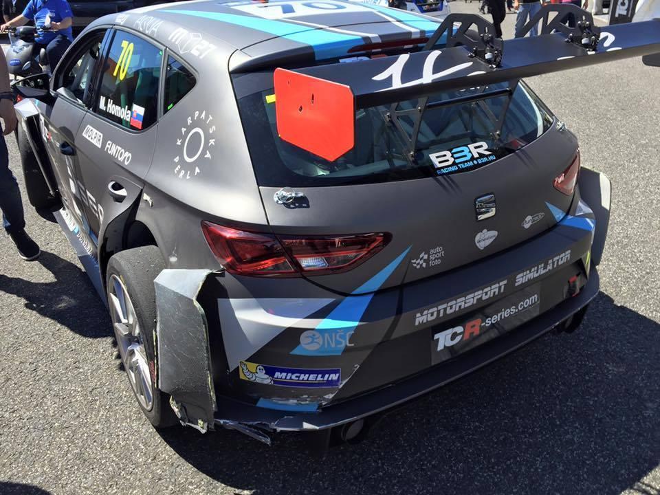 Maťo Homola vybojoval v Estorile pole position a 4. miesto!