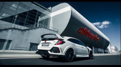 Honda Civic TypeR 10G má znova rekord na Nürburgringu!