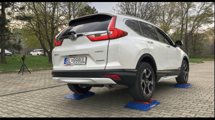 Honda CR-V hybrid 4x4 test
