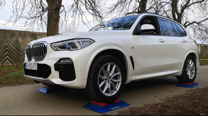 BMW X5 4x4 test