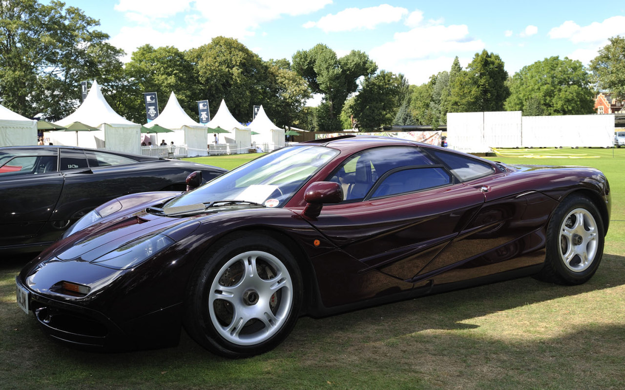 McLaren F1 Rowan Atkinson