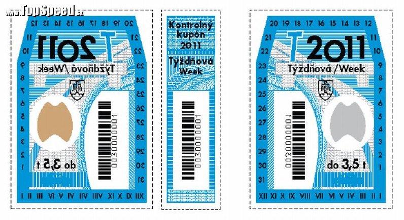 Týždňová diaľničká známka