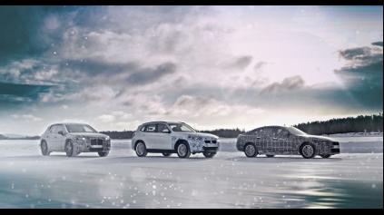 Také sú extrémne testy elektromobilov BMW