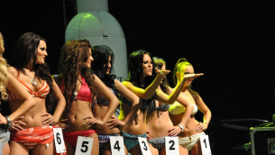 CARAT TUNING PARTY 2011: MISS TUNING FOTO