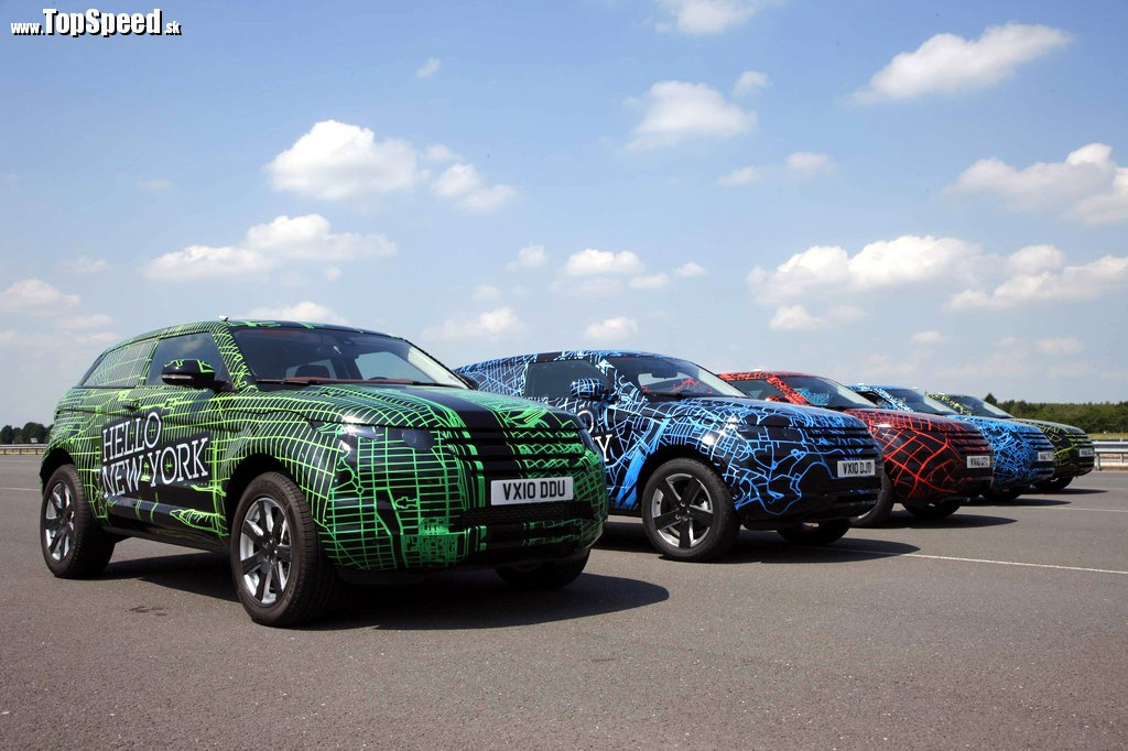 Range Rover Evoque bude testovaný priamo na verejnosti