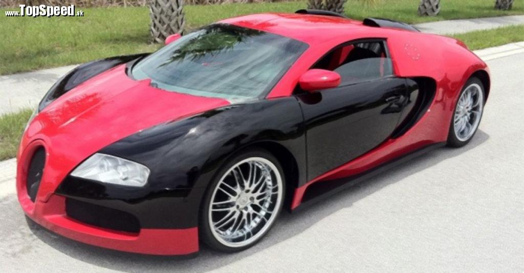 Bugatti Veyron replica Mercury Cougar
