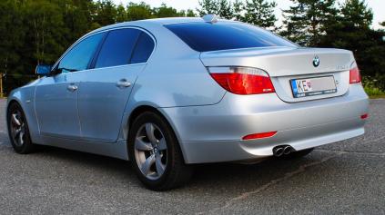 TEST JAZDENKY BMW RADU 5 (TYP E60)