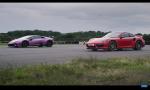 Šprint Lambo Huracan a Porsche 911 Turbo S