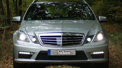 Prvá recenzia Mercedes Benz E 63 AMG Estate