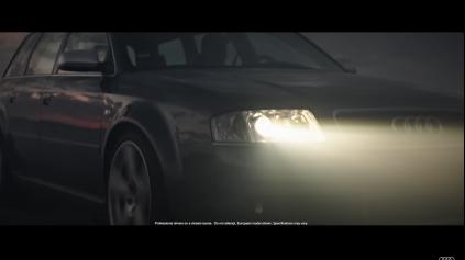 Reklama Audi RS vzdáva hold 25. výročiu športových vozidiel